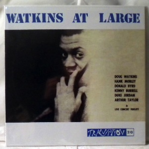 DOUG WATKINS - Watkins At Large - LP