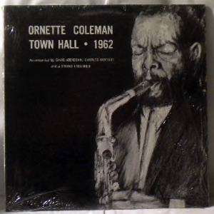 ORNETTE COLEMAN - Town Hall 1962 - LP