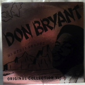 DON BRYANT - Memphis Sounds Vol. 3 - LP