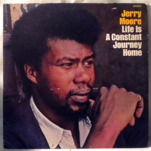 JERRY MOORE - Life is a constant journey home - LP