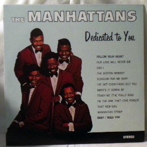 THE MANHATTANS - Dedicated to you - 33T