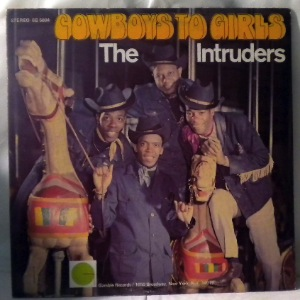 THE INTRUDERS - Cowboys to girls - LP