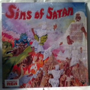 SINS OF SATAN - Though shalt boogie forever - LP