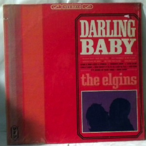 THE ELGINS - Darling baby - LP