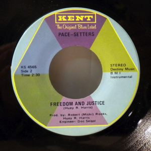 PACE-SETTERS - Push on Jessie Jackson / Freedom and justice - 45T (SP 2 titres)