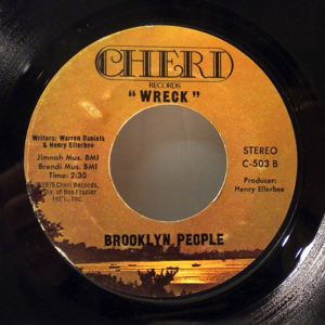 BROOKLYN PEOPLE - Peace and love / Brooklyn people - 7inch (SP)