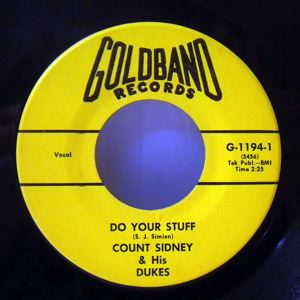 COUNT SIDNEY & HIS DUKES - Do your stuff - 7inch (SP)