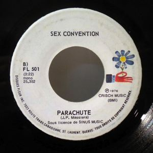 SEX CONVENTION - Parachute / Toi qui reves de baisers - 7inch (SP)
