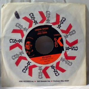 JAMES BROWN - Lowdown popcorn - 7inch (SP)