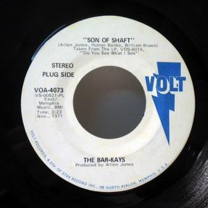 THE BAR-KAYS - Son of shaft - 7inch (SP)
