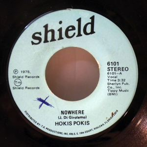 HOKIS POKIS - Nowhere / Can't wait for your love - 7inch (SP)