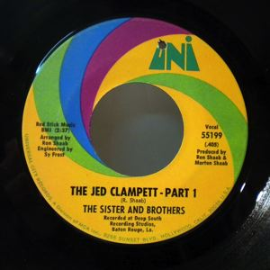 THE SISTER AND BROTHERS - The jed clampett - 7inch (SP)