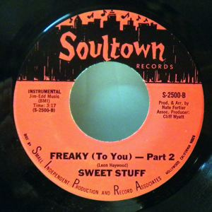 SWEET STUFF - Freaky (to you) - 7inch (SP)