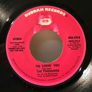 THE PARAGONS - Oh lovin' you - 7inch (SP)