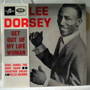 LEE DORSEY - Get out my life woman EP - 7inch (SP)