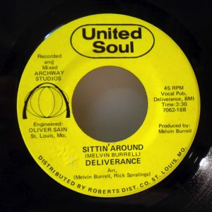 DELIVERANCE - Sittin' around - 7inch (SP)