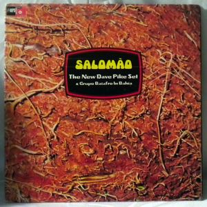 THE NEW DAVE PIKE SET & GRUPO BAIAFRO - Salomao - LP