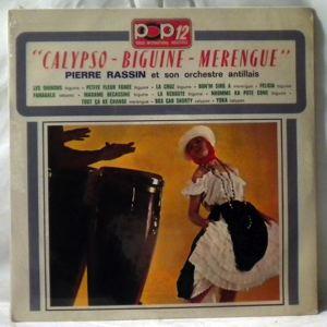 PIERRE RASSIN - Calypso Biguine Merengue - LP