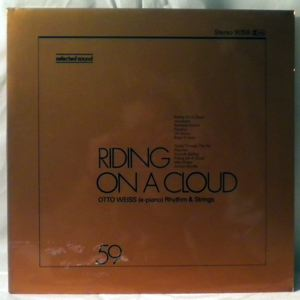 OTTO WEISS - Riding on a cloud - LP