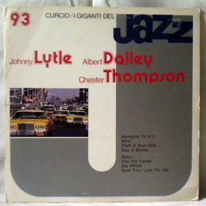 JOHNNY LYTLE - I Giganti Del Jazz - LP