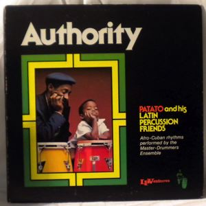 PATATO AND HIS LATIN PERCUSSION FRIENDS - Authority - LP