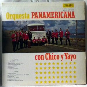 LITO PENA Y SU ORQUESTA PANAMERICANA - Con Chico Y Yayo - LP