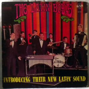 THE LATIN BOYS - Introducing Their New Latin Sound - LP