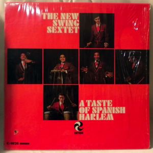 THE NEW SWING SEXTET - A Taste Of Spanish Harlem - LP