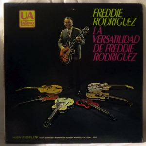 FREDDIE RODRIGUEZ - La Versatilidad De Freddie Rodriguez - LP