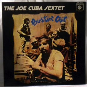 THE JOE CUBA SEXTET - Bustin' Out - LP