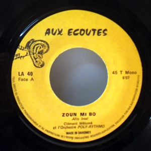 MELOME CLEMENT ET L' ORCHESTRE POLY RYTHMO - Zoun mi do / Gendarme si we - 7inch (SP)
