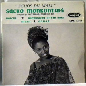 SACKO MONKONTAFE - Echos du Mali - 7inch (SP)