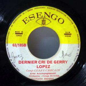ORCHESTRE NEGRO SUCCES - Dernier cri de Gerry Lopez - 7inch (SP)
