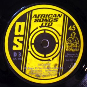 EL REGO ET SES COMMANDOS - Djobime/Do Do Baya - 7inch (SP)