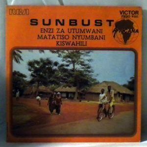 SUNBUST - Enzi za utumwani / Matatiso nyumbni - 7inch (SP)