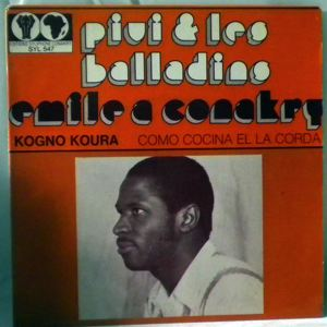 PIVI & LES BALLADINS - Kogno koura / Como cocina el la corda - 7inch (SP)