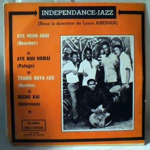 INDEPENDANCE JAZZ - Aye bou homai EP - 45T (SP 2 titres)
