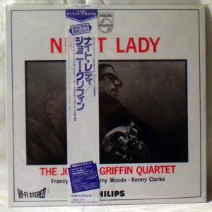 THE JOHNNY GRIFFIN QUARTET - Night Lady - LP
