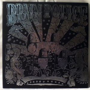 THE BRAIN POLICE - Same - LP x 2