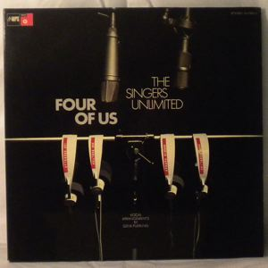 THE SINGERS UNLIMITED - Four Of Us - LP