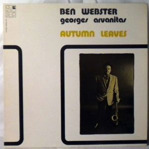 BEN WEBSTER - Autumn Leaves - LP
