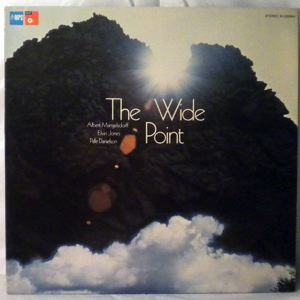ALBERT MANGELSDORFF - The Wide Point - LP