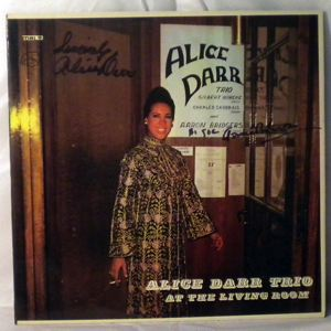 ALICE DARR TRIO - At The Living Room - LP