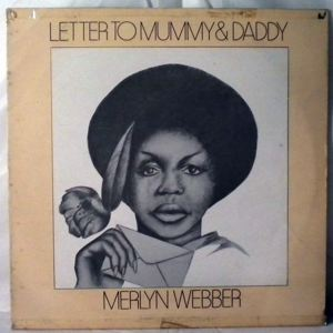 MERLYN WEBBER - Letter to mummy & daddy - LP