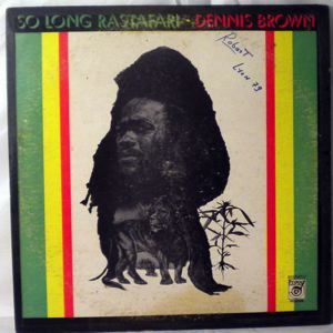 DENNIS BROWN - So long rastafari - LP