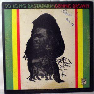 DENNIS BROWN - So long rastafari - LP