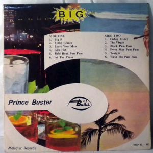 PRINCE BUSTER & ALL STARS - Big 5 - LP