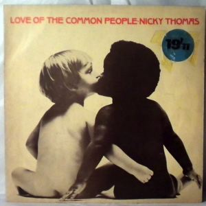 NICKY THOMAS - Love of the common people - LP