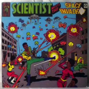SCIENTIST - Meets the space invaders - LP