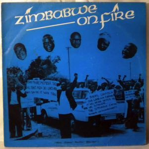 FREDERICK ZINDI - Zimbabwe on fire - LP